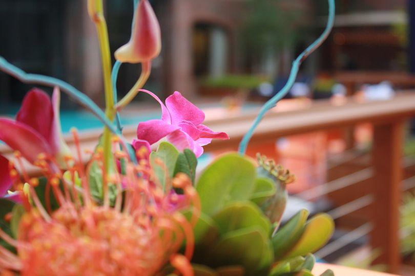 Floral design at AQUA