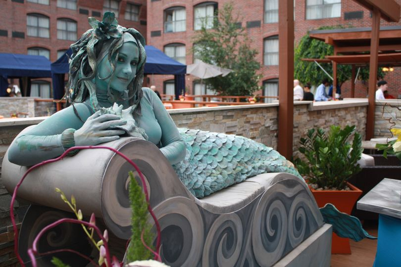 Mermaid at aqua