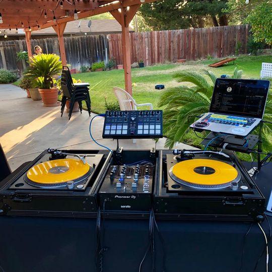 DJ's gear