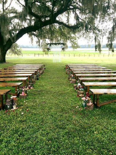 Ceremony lake site