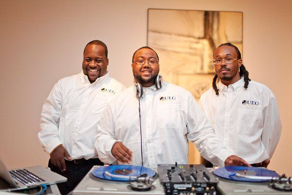 3 of the GREAT DJs of the Untouchable Entertainment Group (UEG) staff.
