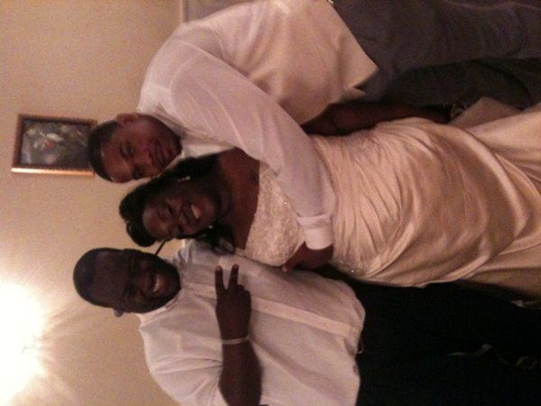 Jeff/DEEJAY 007 with a Great couple on their wedding day at a very nice wedding venue called the...