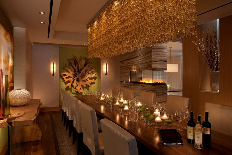 Harth private dining room