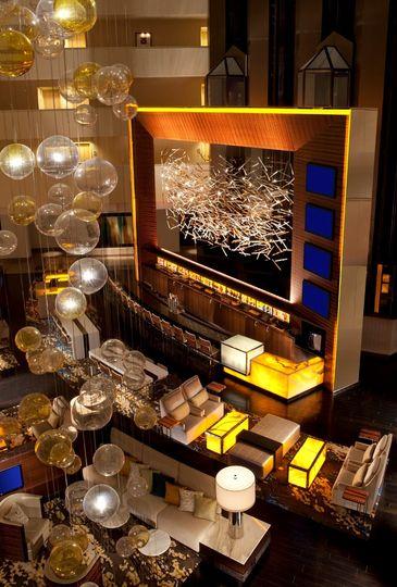 Hilton McLean lobby bar