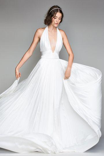The flowy dress