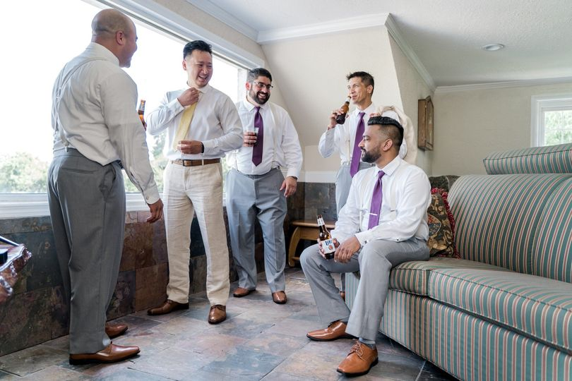 Groom's Ready Room