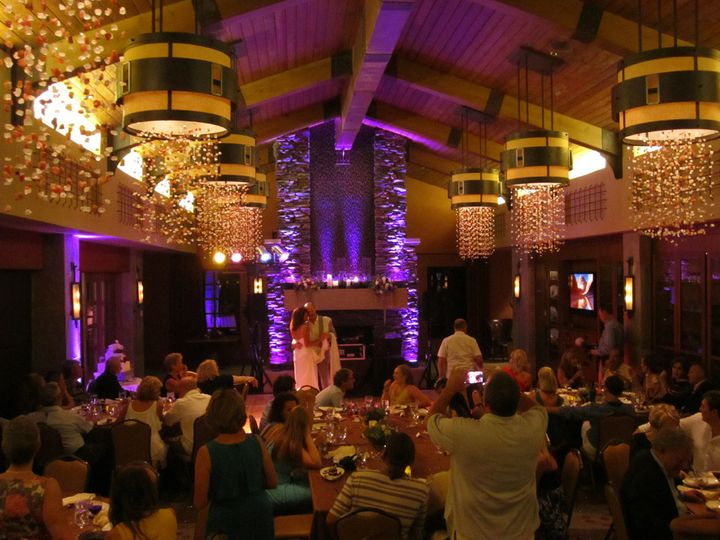 First dance in the private dining room at Cayton's Restaurant, Ritz-Carlton, Dove Mountain.