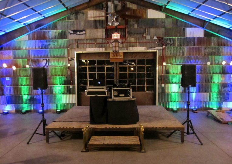 The Whistle Stop Depot is a venue in Downtown Tucson, and it's a really cool space.