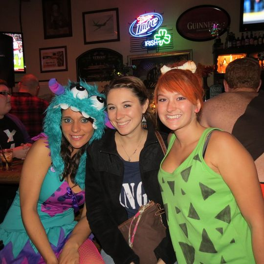Halloween party at Market Street Public House in Denton, MD.