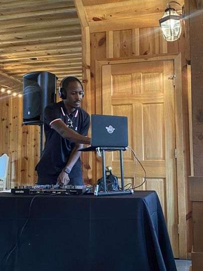 Fly Guy deejaying reception