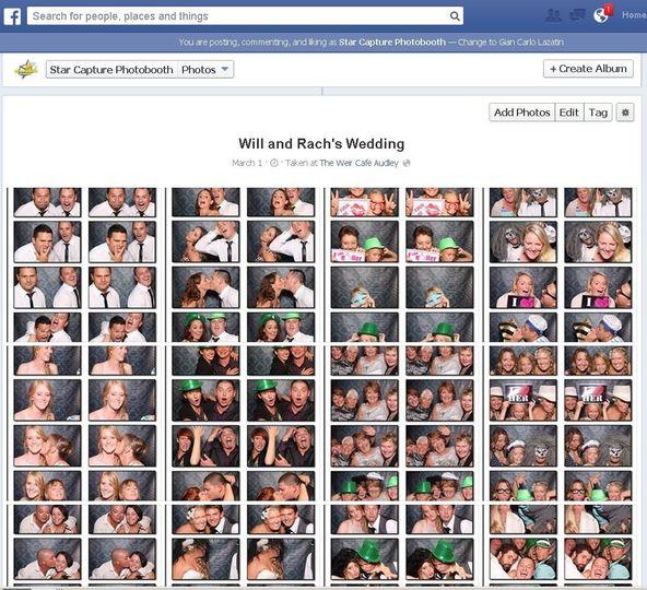 wedding facebook