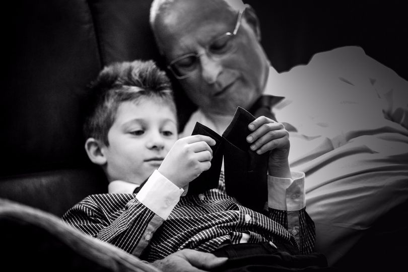Child and Grandfather