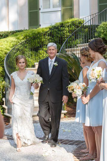 Bride procession