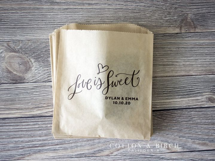 Personalized Treat Bag
