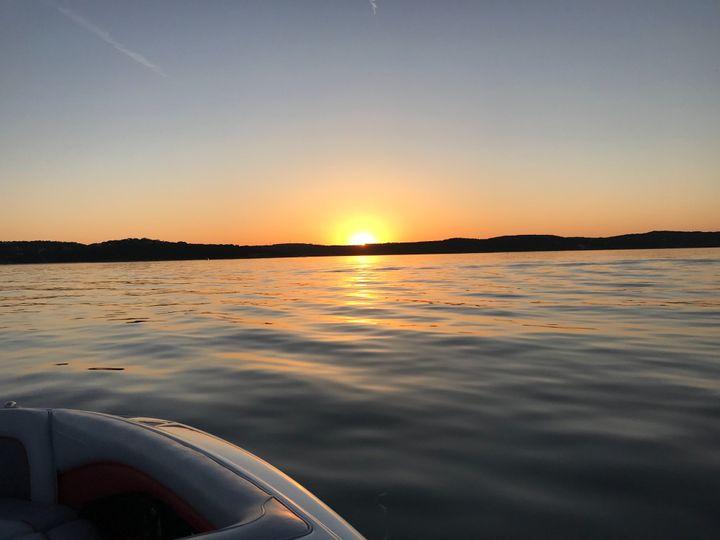 Texas Sunset on the Centurion