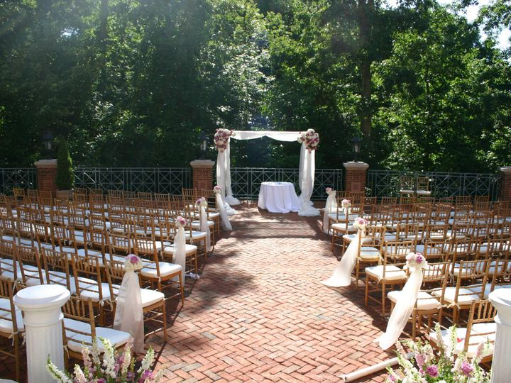 Tmx 1435331952440 Terrace Ceremony Chivari Chantilly, VA wedding venue