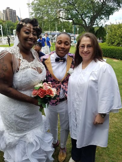 Mrs. and Mrs.!!!