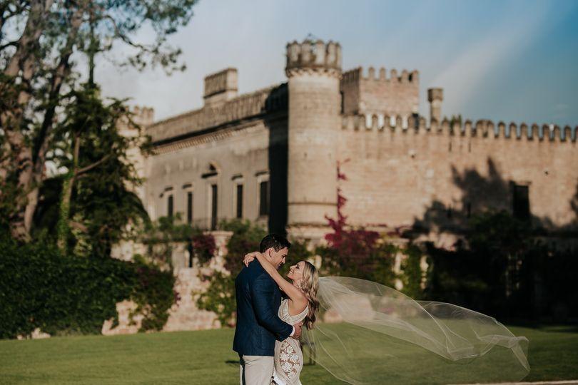 Civil wedding at the castle