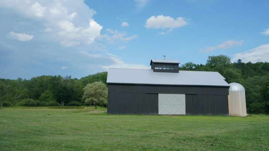 Front view of the Barn