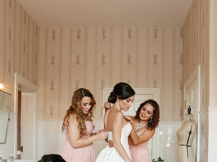 Tmx 1488479861031 Bride In Bridal Suite Getting Ready Ashburn, VA wedding venue