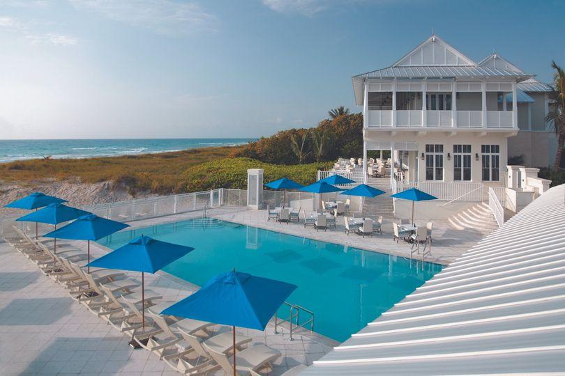 beach club side view