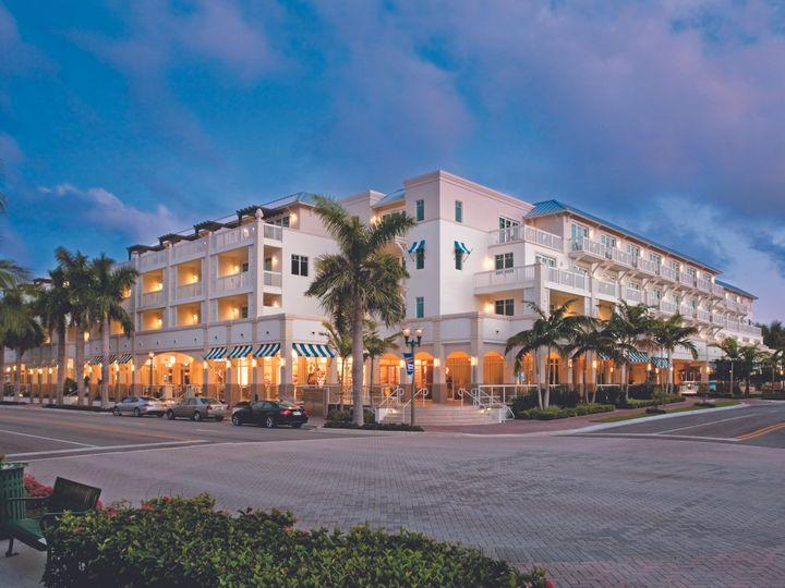 Tmx 1419878450038 Hotelexteriornight Delray Beach, Florida wedding venue