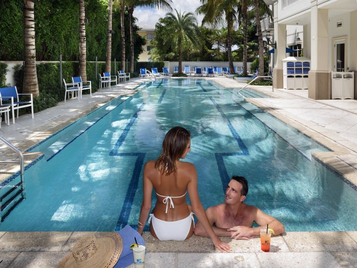 Tmx 1419878516587 Hotel Pool  Lifestyle Couple Delray Beach, Florida wedding venue