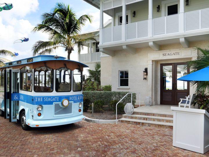 Tmx 1419879840912 Trolley At Beach Club Delray Beach, Florida wedding venue