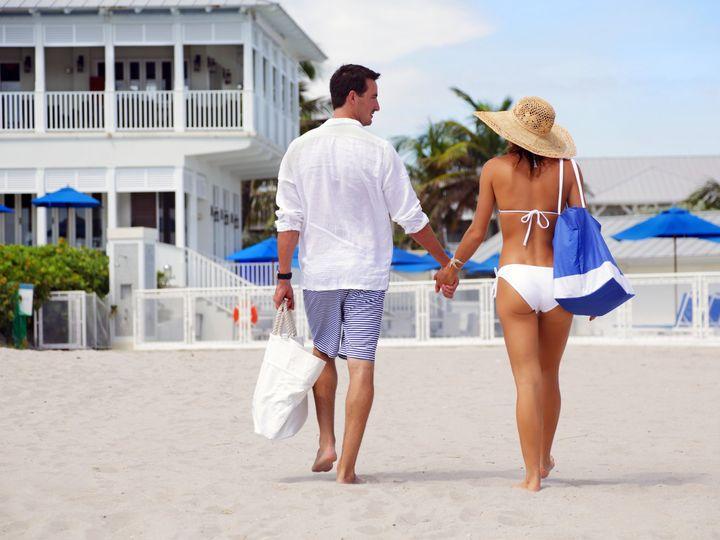 Tmx 1419886366058 Couple On Beach Delray Beach, Florida wedding venue