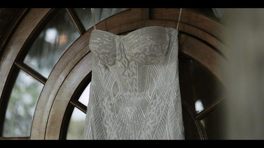 Closeup of dress
