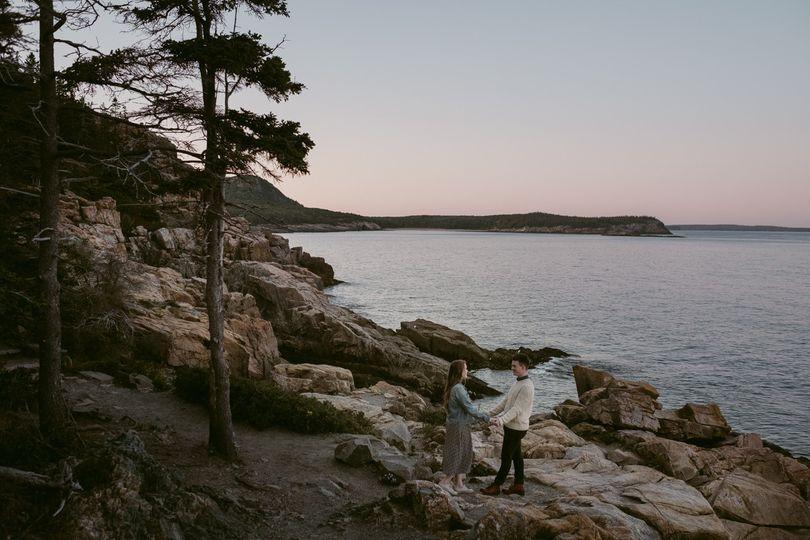 Acadia National Park Engagemen