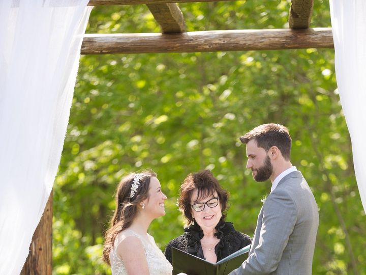 Tmx 1527775675 1903d3d3bad9d5ad 1527775673 4c174fec6461b338 1527779602678 1 Emily Matt Highlig Williamstown, Vermont wedding officiant