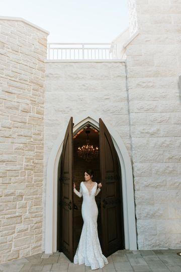 Gothic-style doors
