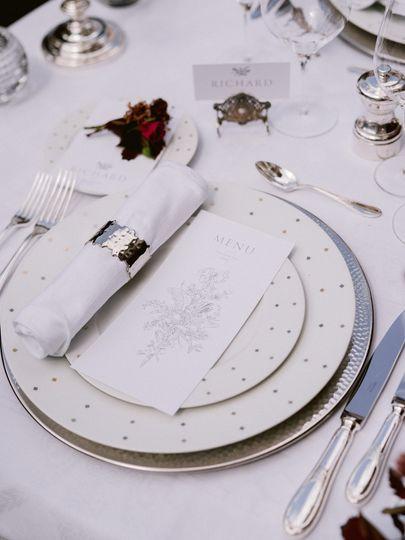 SBEvents wedding table