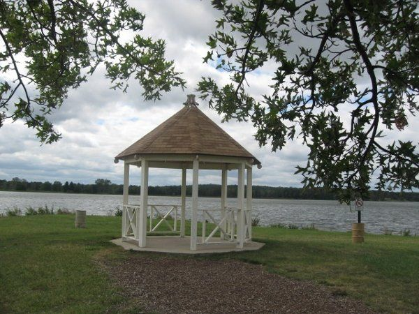 You may reserve our pristine white gazebo for your ceremony located directly on the lake within...