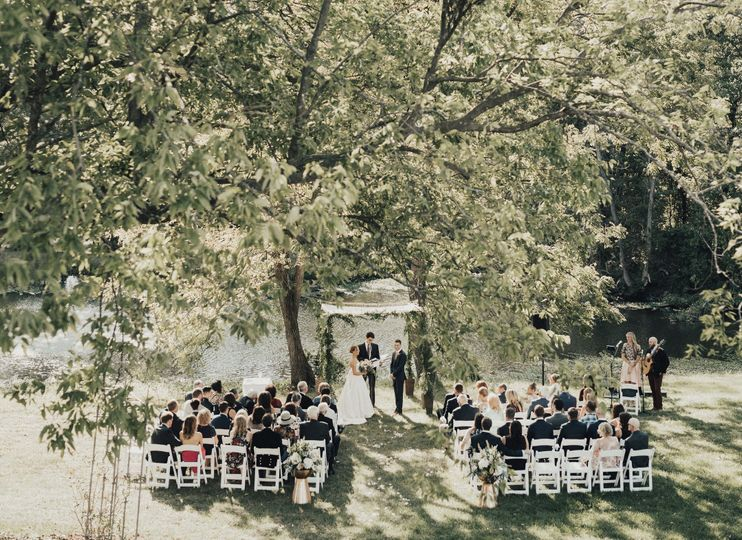 Wedding in the woods | Photo: The Rowlands