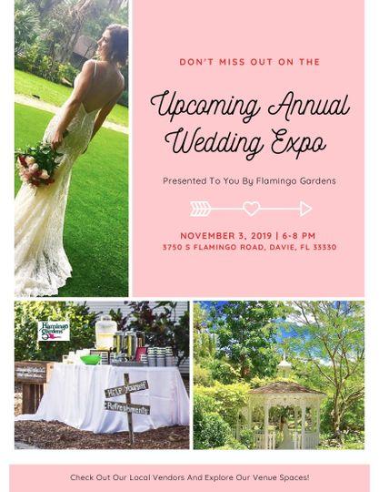 Upcoming Wedding Expo!