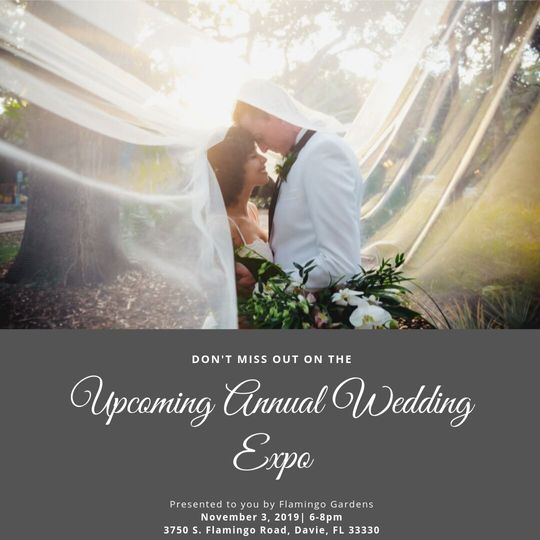 Upcoming Annual Wedding Expo
