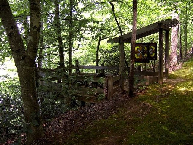The Chapel wedding site at Timberlake Earth Sanctuary. Whitsett, NC. Outdoor weddings in the Triad...