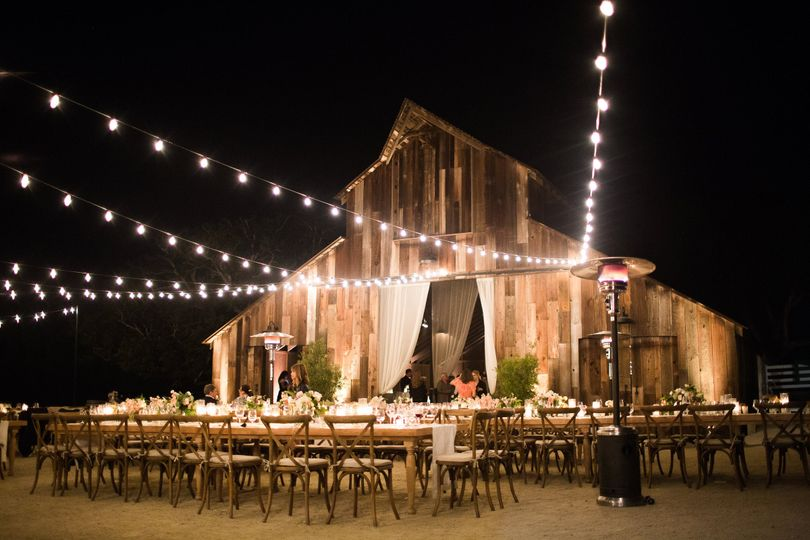 The wooden barn