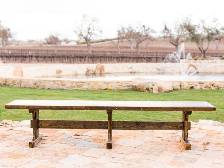 Tmx 1520622521 10201753e9e502f6 1520622520 Bbc9805b80f600eb 1520622520862 4 Plymouth Bench Pre Paso Robles, CA wedding rental