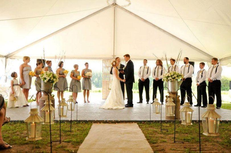 Spectacular ceremony