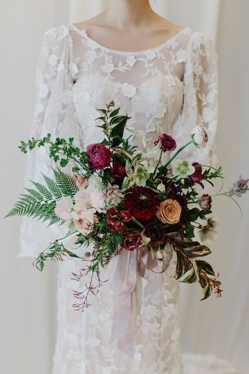 Sophisticated spring bouquet