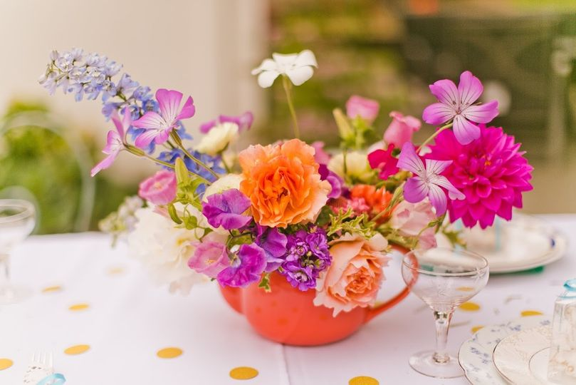 Sweet summer tea party