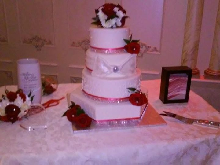 Tmx 1427232093224 Wedding Jamaica wedding cake