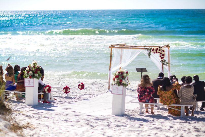 Destin, FL Beach Wedding
