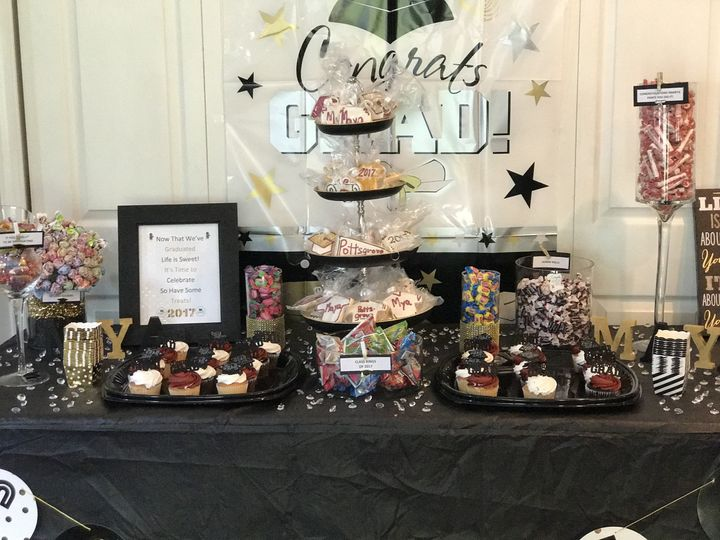 Graduation Party Candy/Dessert Table