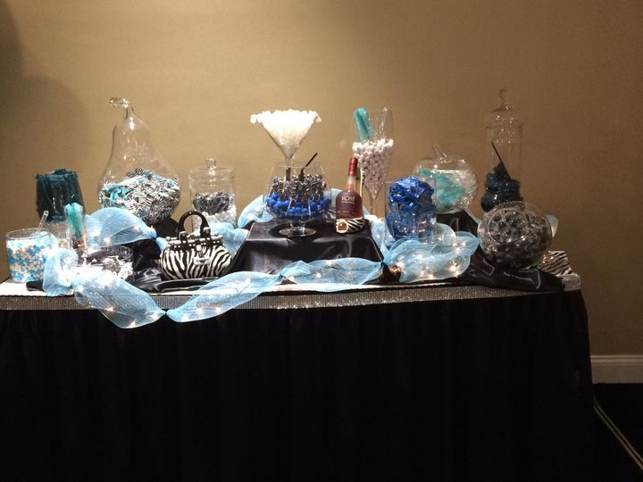 Adult Candy Table