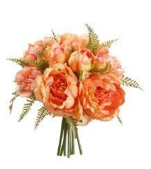 9 5 peony fern bouquet pe fbq188 pe