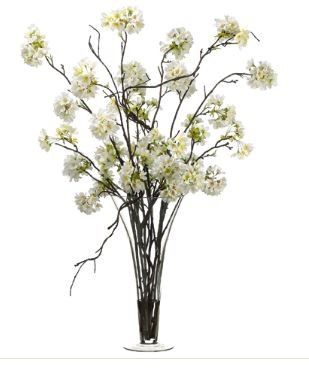 Tmx 1461340084301 Cherry Blossom In Glass Vase White Lakewood wedding florist